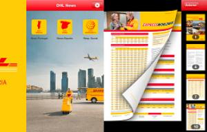DHL Express lanza su aplicación DHL News para realizar envíos desde el móvil