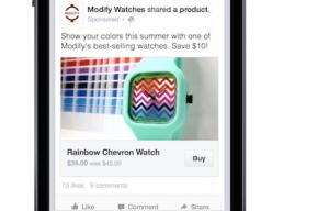 Facebook apuesta por el Ecommerce con las pruebas de su botón 'Comprar'