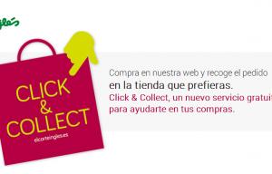 El Corte Inglés se suma a la multicanalidad con su servicio Click&Collect