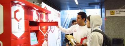Metrovalencia instala consignas para envíos online con My Pick Box