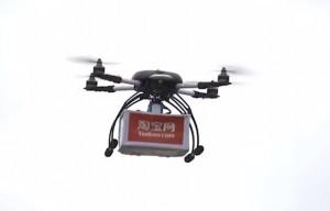 Alibaba pone a prueba el transporte con drones