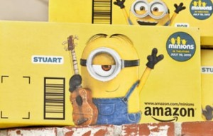 Amazon utilizará su packaging como soporte publicitario