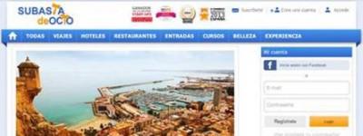 Los españoles se apuntan a las subastas de ocio